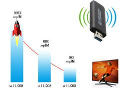 full 1200mbps wi fi adapter dongle 802