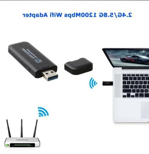 ac1200mbps usb 3 0 network dongle wifi