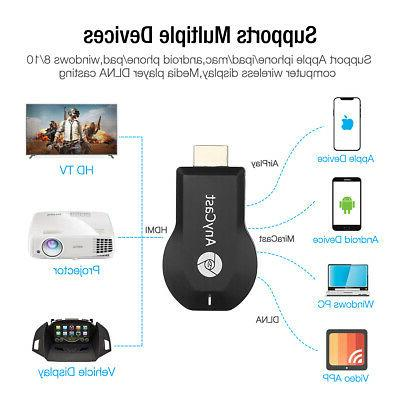 Wireless AnyCast Dongle HDMI Stick DLNA Airplay Miracast