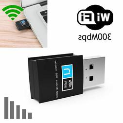 New Wireless Usb Adapter Wifi Internet Dongle 802.11N For Wi