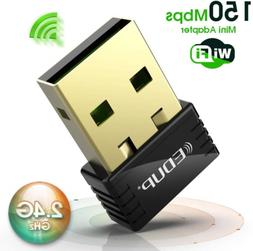 Usb WiFi Adapter 150Mbps Wireless  Dongle for Windows Mac Pl