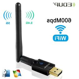 EDUP Wifi Adapter 600Mbps Dual Band Wireless Dongle Receiver